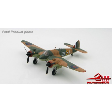 "Hobby Master 1:72 HA2313 Bristol Beaufighter Mk.IF R2069 ""ZK-A"" 25Sqn, RAF North Weald, Essex, Sept.1940. With box"