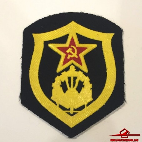 USSR CCCP VINTAGE SEWING PATCH. SOVIET ARMY COMBAT ENGINEER (USSR-P5)