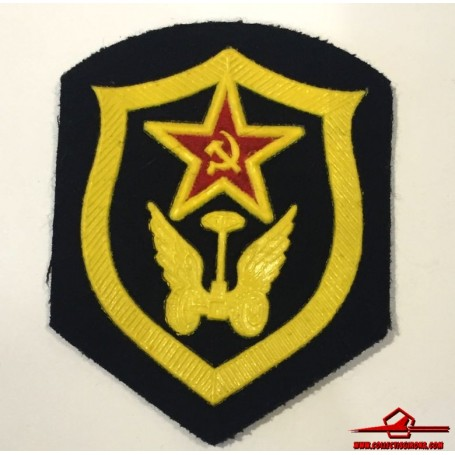 USSR CCCP VINTAGE SEWING PATCH. SOVIET ARMY CAR TRANSPORTATION TROOPS (USSR-P13)