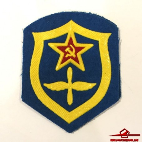 USSR CCCP VINTAGE SEWING PATCH. SOVIET ARMY AIR FORCE (USSR-P16)
