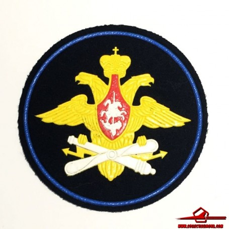 RUSSIAN FEDERATION VINTAGE SLEEVE PATCH DOUBLE EAGLE AIR FORCE (RUSSIA F P-11)