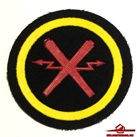 USSR CCCP VINTAGE SEWING PATCH SOVIET NAVY ARTILLERY SPECIALIST NCO (USSR-P31)