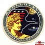 NASA MISSION APOLLO XVII CERNAN - EVANS - SCHMITT EMBROIDERED 4 INCHES PATCH  (USA-P6)