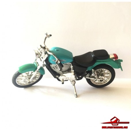 MAISTO 1:18 HONDA SHADOW VT1100C2 (TURQUOISE) MOTORCYCLE DIECAST (M-01)