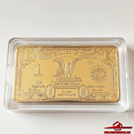 COMMEMORATIVE TOKEN UNITED STATES OF AMERICA ONE DOLLAR. 1 TROY OUNCE. SOUVENIR COLLECTION