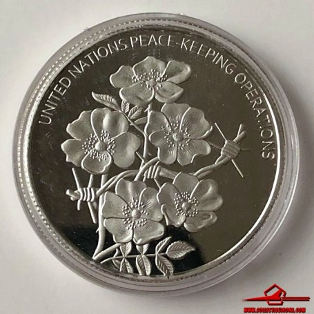 COMMEMORATIVE TOKEN UNITED NATIONS PEACE-KEEPING OPERATIONS. SOUVENIR COLLECTION