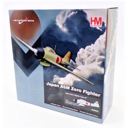 Hobby Master 1:48 IJN Mitsubishi A6M2 Zero Fighter #HA8807 Saburo Sakai
