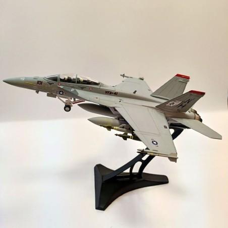 Dragon Models 1:72 Warbirds 50179 McDonnell Douglas F/A-18F Super Hornet USN VFA-41 Black Aces, NH101, USS Nimitz, 2003