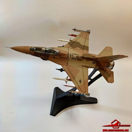 Dragon Models 1:72 Warbirds 50252 Lockheed F-16B Fighting Falcon Diecast Model USN NSAWC TOPGUN, NAS Fallon, NV