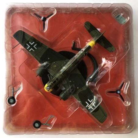 Henschel Hs 129B-1 Luftwaffe, Germany. 1:72 Altaya. WWII Combat Aircraft.