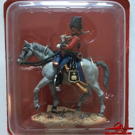 CAVALRY NAPOLEONIC WARS. SNC020 Officer, Kellermann's Hussars, 1805. DEL PRADO. With Blister