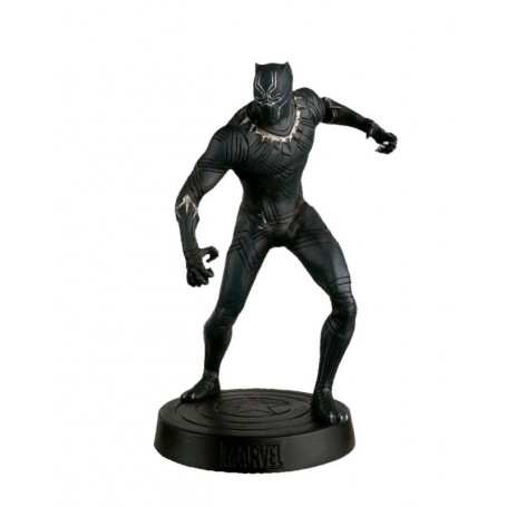 SUPERHEROES AND VILLAINS MARVEL: AVENGERS PLANETA DE AGOSTINI 1:16. BLACK PANTHER. WITH BOX.