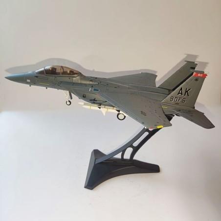 Dragon Models 1:72 Warbirds 50147 Boeing F-15E Strike Eagle Diecast Model USAF 3rd TFW, 90th TFS Pair-O-Dice, Elmendorf AFB, AK