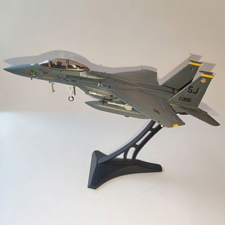 "Dragon Models 1:72 Warbirds Boeing F-15E Strike Eagle USAF 4th TFW, 336th TFS Rocketeers, ""4 Warned"", Seymour Johnson AFB, NC"