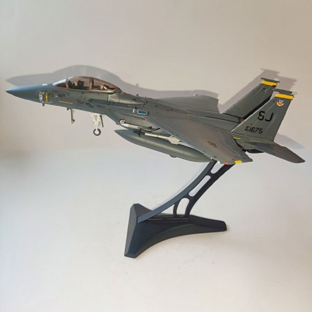 """Dragon Models 1:72 Warbirds Boeing F-15E Strike USAF 4th TFW, 336th TFS Rocketeers, """"Sneaky Carrot"""", Seymour Johnson AFB, NC"""