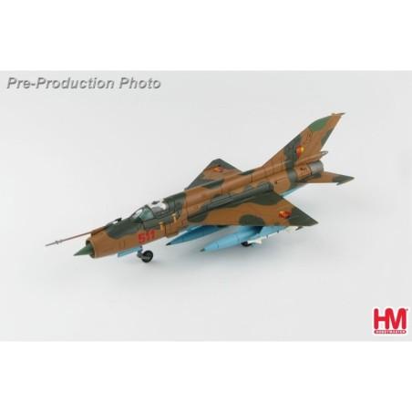 Hobby Master 1:72 Air Power Series HA0197 Mikoyan-Gurevich MiG-21MF Fishbed East German Air Force JG-1, Red 511, East Germany