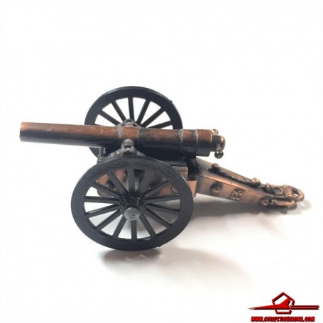 COLLECTIBLE VINTAGE PENCIL SHARPENER. DIECAST MINIATURE AMERICAN CIVIL WAR CANNON. MADE IN CHINA