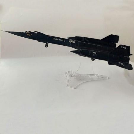 Century Wings 1:72 Wings of Heroes 718845 Lockheed SR-71B Blackbird Diecast Model USAF 9th SRW, 61-7956, Beale AFB, CA, 1968