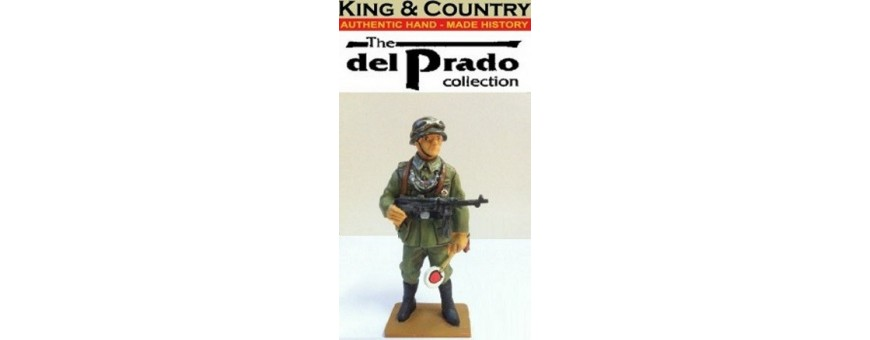 KING & COUNTRY MEN AT WAR IN THE 20th CENTURY - DEL PRADO COLLECTION